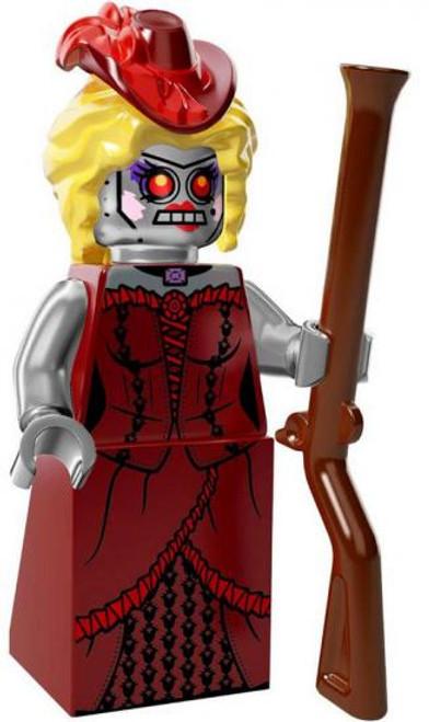 The LEGO Movie Loose Calamity Drone Minifigure [Loose]