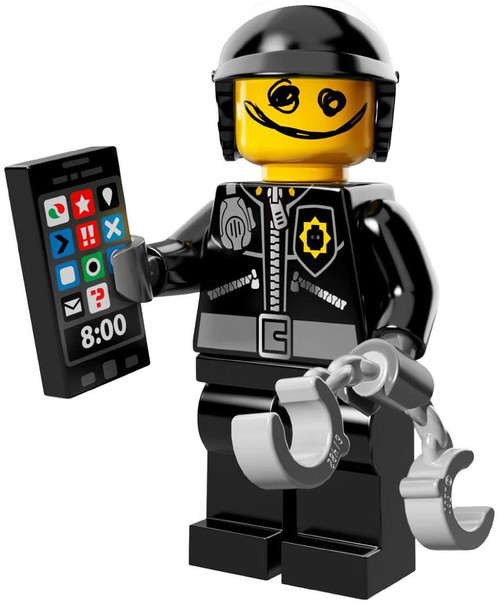 The LEGO Movie Loose Good Cop / Bad Cop Minifigure [Loose]