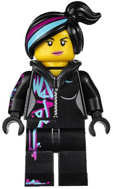 The LEGO Movie Loose Wyldstyle Minifigure [Hoodie Down]