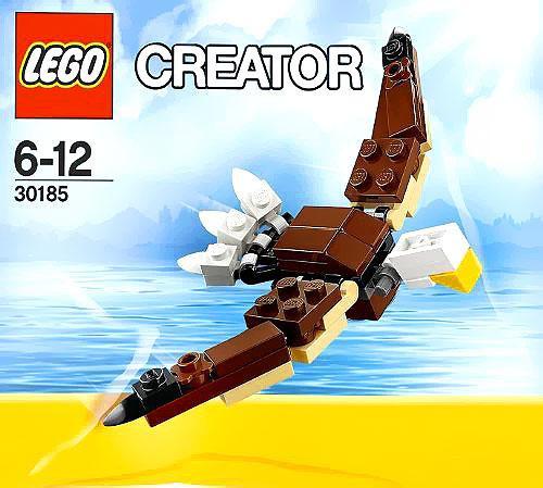 LEGO Creator Bald Eagle Mini Set #30185 [Bagged]