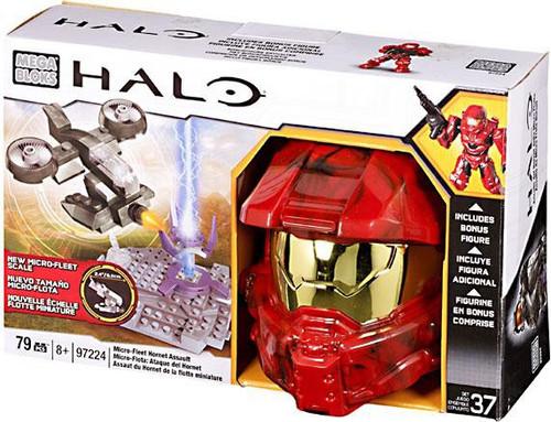 Mega Bloks Halo Micro-Fleet Scale Micro Fleet Hornet Assault Set #97224