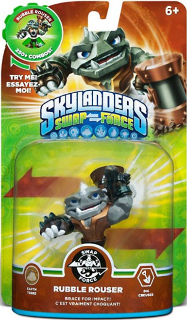 Skylanders Swap Force Swappable Rubble Rouser Figure Pack