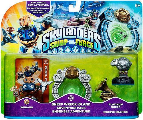 Skylanders Swap Force Sheep Wreck Island Adventure Pack