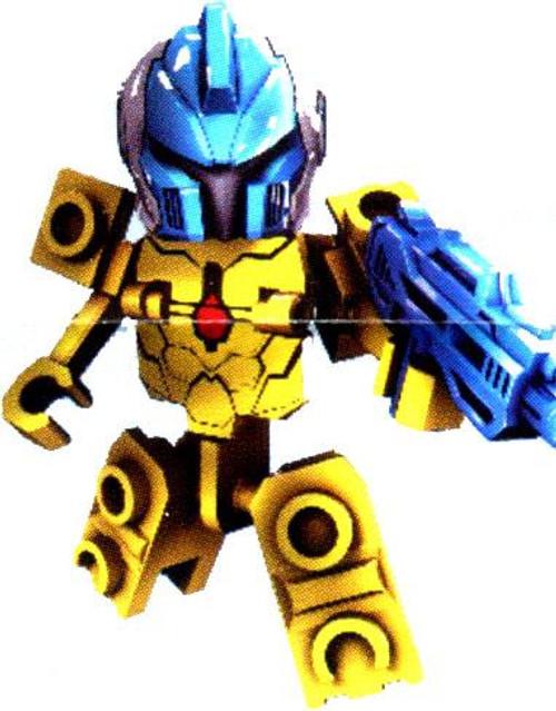 Tenkai Knights Loose Tenkai Trooper Minifigure [Yellow Loose]