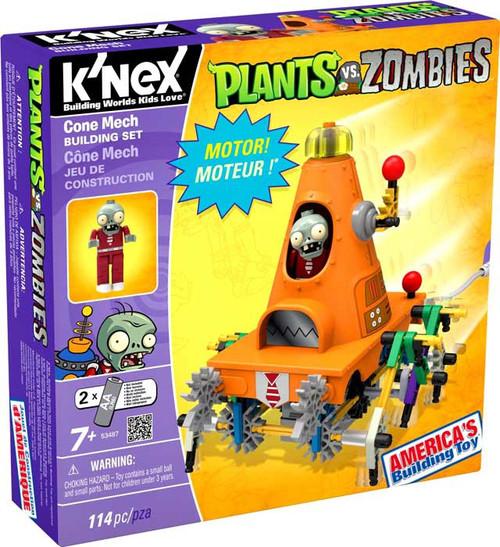 K'NEX Plants vs. Zombies Cone Mech Set #53487