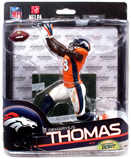 McFarlane Toys NFL Denver Broncos Sports Picks Series 34 Demaryius Thomas Exclusive Action Figure