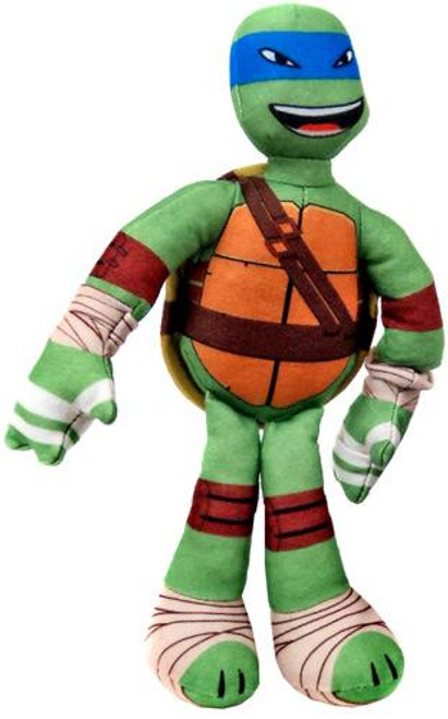 Teenage Mutant Ninja Turtles Nickelodeon Sling Shouts Leonardo 10-Inch Plush