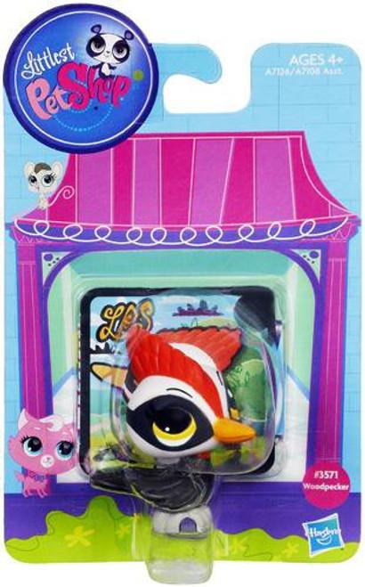Littlest Pet Shop Bobble In Style Woodpecker Figure #3571