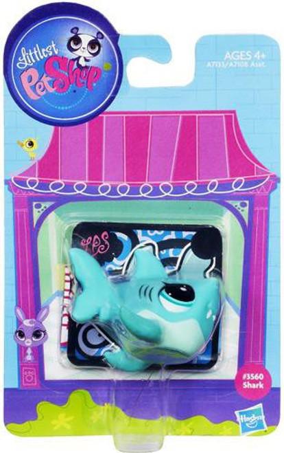 Littlest Pet Shop Shark Figure #3560