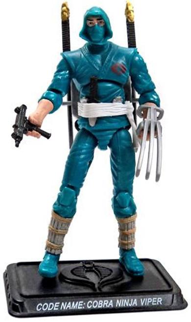 GI Joe Loose Cobra Ninja Viper Action Figure [Version 2 Loose]