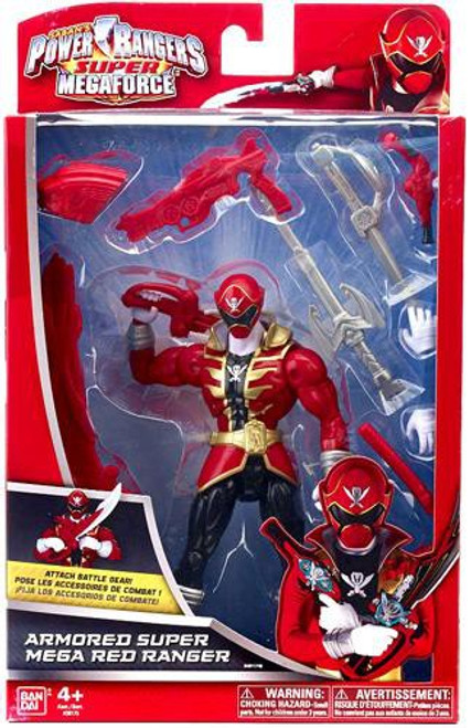 Power Rangers Super Megaforce Armored Super Mega Red Ranger Action Figure