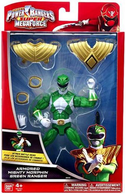 Power Rangers Super Megaforce Armored Mighty Morphin Green Ranger Action Figure