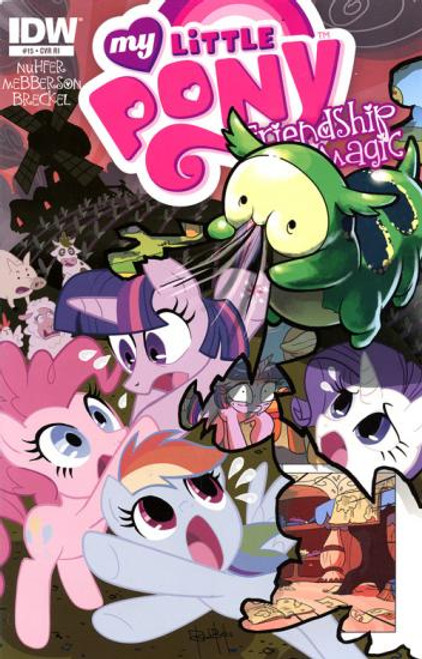 My Little Pony Friendship is Magic Comic Book #15 [Retailer Incentive]