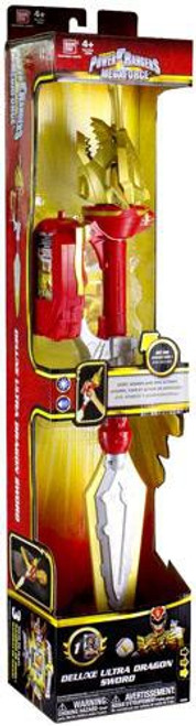 Power Rangers Megaforce Deluxe Ultra Dragon Sword Roleplay Toy