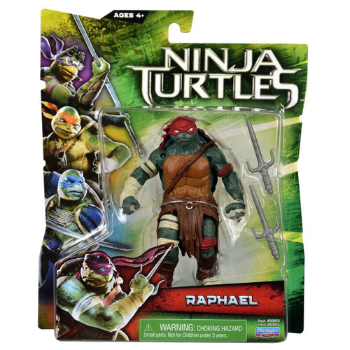 Teenage Mutant Ninja Turtles 2014 Movie Raphael Action Figure