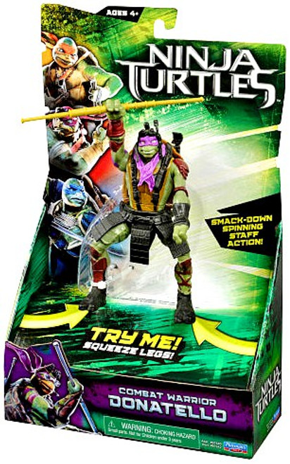 Teenage Mutant Ninja Turtles 2014 Movie Donatello Action Figure [Combat Warrior]