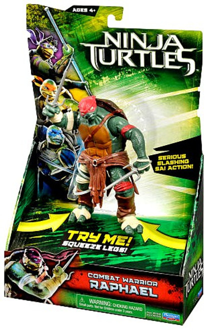 Teenage Mutant Ninja Turtles 2014 Movie Raphael Action Figure [Combat Warrior]