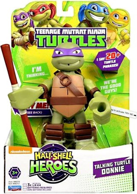 Teenage Mutant Ninja Turtles TMNT Half Shell Heroes Donatello Action Figure [With Sound]