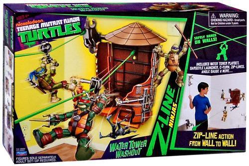 Teenage Mutant Ninja Turtles Nickelodeon Water Tower Washout Playset
