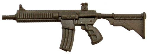 GI Joe Loose Weapons Ace N 21 5.56mm Action Figure Accessory [Olive Green Loose]