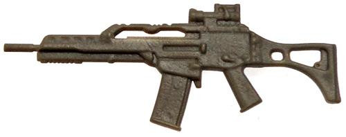 GI Joe Loose Weapons G36 Assault Rifle Action Figure Accessory [Olive Green Loose]
