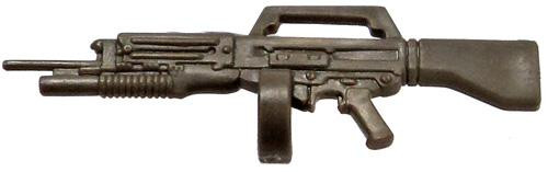 GI Joe Loose Weapons USAS-12 with Master Key Action Figure Accessory [Olive Green Loose]