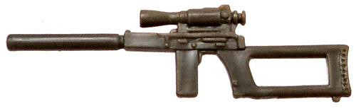 GI Joe Loose Weapons Silenced Pistol & Sight Action Figure Accessory [Olive Green Loose]