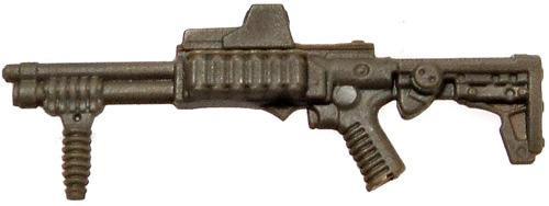 GI Joe Loose Weapons Tactical Shotgun Action Figure Accessory [Dark Tan Loose]