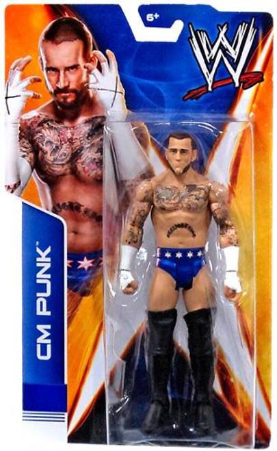 WWE Wrestling Signature Series 2014 CM Punk Action Figure