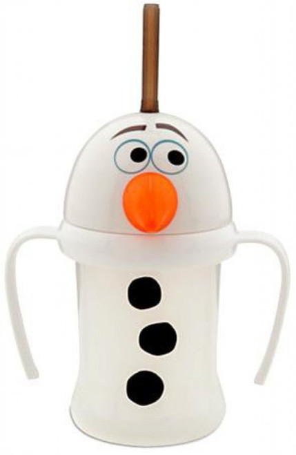 Disney Frozen Olaf Cup with Straw Exclusive