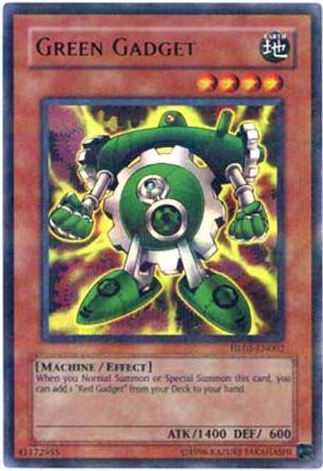 YuGiOh Hobby League Parallel Rare Green Gadget HL05-EN002