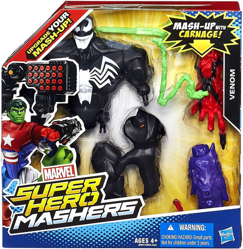 Marvel Super Hero Mashers Battle Upgrade Venom Action Figure