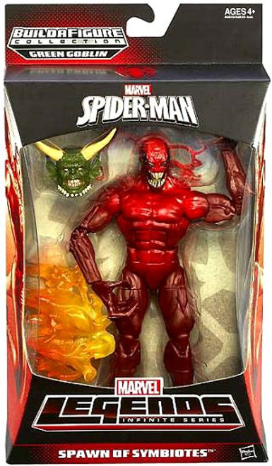 The Amazing Spider-Man 2 Marvel Legends Infinite Series Green Goblin Toxin Action Figure [Spawn of Symbiotes]