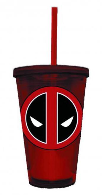 Marvel Deadpool Symbol Acrylic Cup