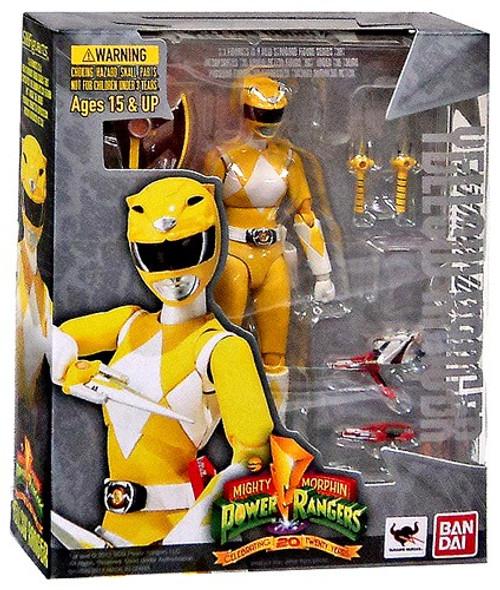 Power Rangers Mighty Morphin S.H. Figuarts Yellow Ranger Action Figure