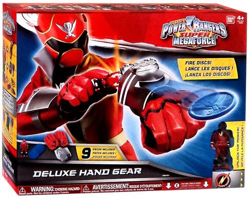 Power Rangers Super Megaforce Deluxe Hand Gear Roleplay Toy