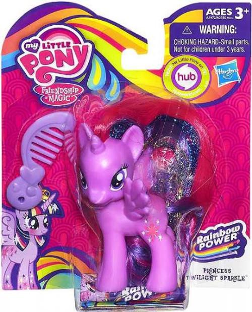 My Little Pony Friendship is Magic Rainbow Power Princess Twilight Sparkle Figure