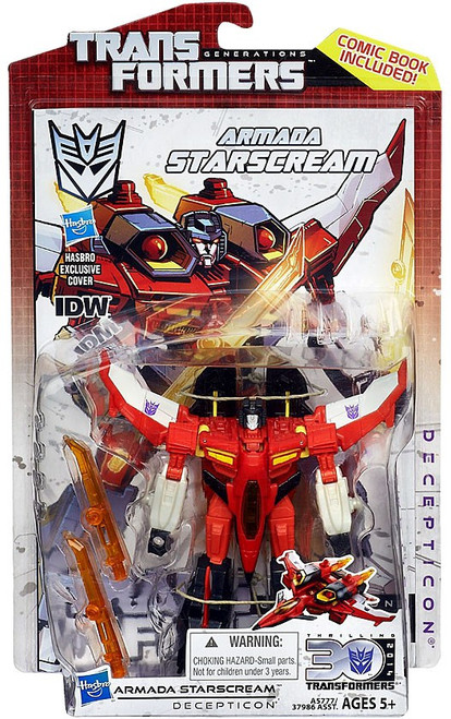 Transformers Generations 30th Anniversary Deluxe IDW Armada Starscream Deluxe Action Figure