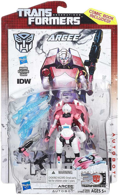Transformers Generations Arcee Deluxe Action Figure