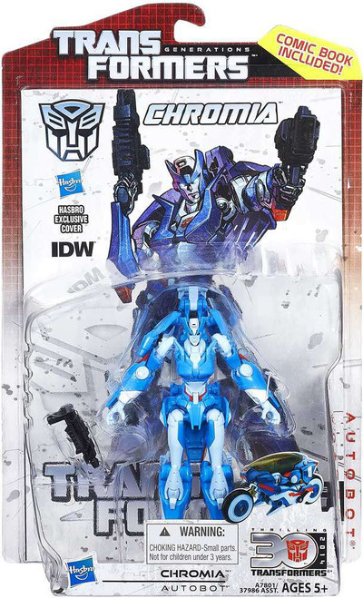 Transformers Generations Chromia Deluxe Action Figure