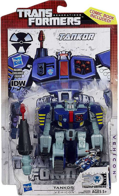 Transformers Generations 30th Anniversary Deluxe IDW Tankor Deluxe Action Figure
