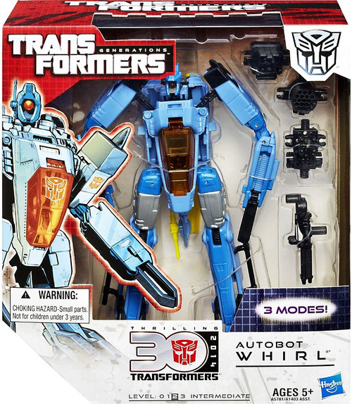 Transformers Generations 30th Anniversary Whirl Voyager Action Figure