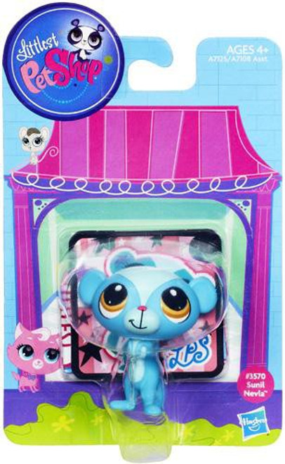 Littlest Pet Shop Bobble In Style Sunil Nevla Figure #3570 [Mongoose]