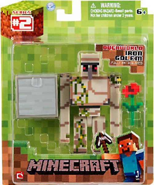 Minecraft Overworld Iron Golem Action Figure