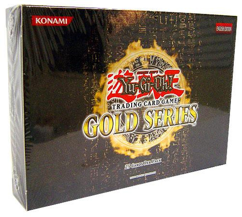 YuGiOh Gold Series 1 2008 Exclusive Booster Pack [Sealed]
