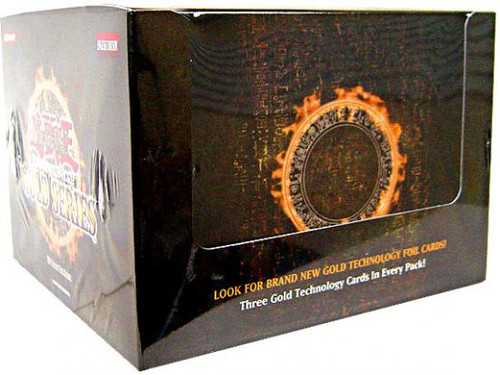 YuGiOh Gold Series 1 2008 Exclusive Booster Box [5 Packs]