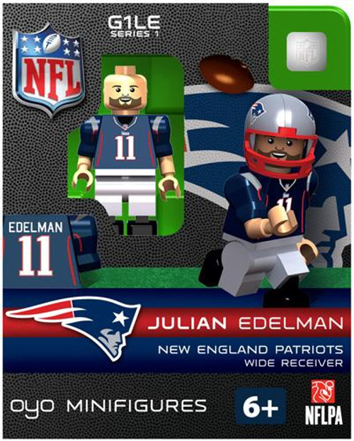 New England Patriots NFL Generation 1 Series 1 Julian Edelman Minifigure