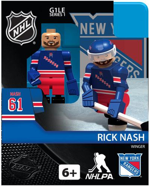 New York Rangers NHL Hockey Generation 1 Series 1 Rick Nash Minifigure