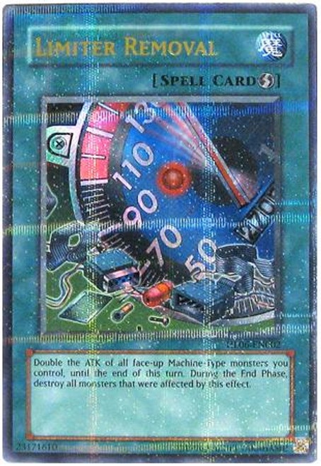 YuGiOh Hobby League Parallel Rare Limiter Removal HL06-EN002