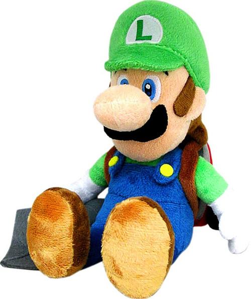 Super Mario Luigi 7-Inch Plush [Ghost Vacuum]